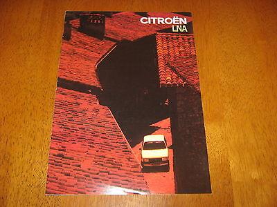 Citroen LNA Brochure