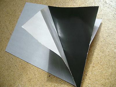 Zuschnitt Stempelgummi Spiegelklebeband Vorlegeband  300x200x0,8mm beidseitig kl
