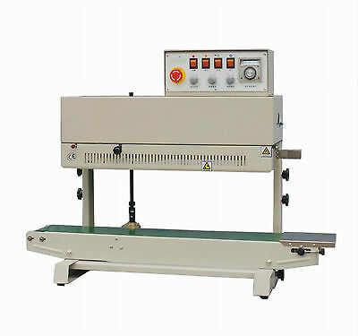 Entrepack Stainless Steel 2200v Vertical Continuous Band Sealer W Ink Printer