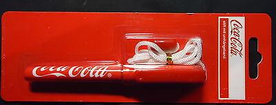 Coca-Cola Stift mit Umhängeband - unbenutzt auf Blister