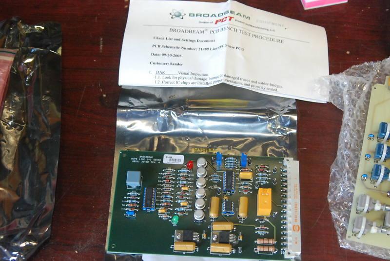 RPC Industries, PCT Broadbeam 21488-A, O/C Sense/HVPS
