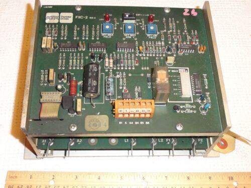 KTK THYRISTOR DRIVES FXC-2 + FXT.2 FIELD REGULATOR L&S1285 parts/as-is