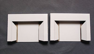 (2) Game Holders tray stabilizer cardboard insert New SNES Super - Cardboard Trays