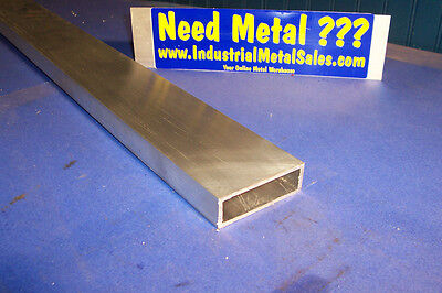 6063 Aluminum Rectangle Tube 1 X 3 X 60 X 18 Wall--1 X 3 X .125 Wall