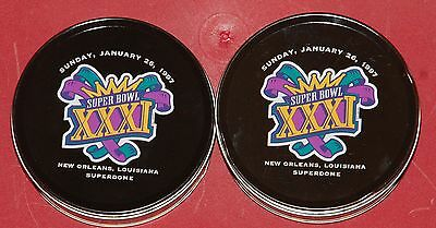 Super Bowl Xxxi New Orleans Watch Lot Of 2