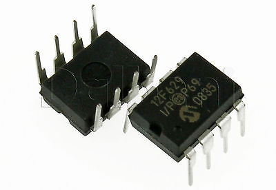 PIC12F629-I/P Original New Microchip Integrated Circuit