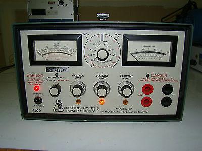 030 Isco Electrophoresis Power Supply Model 494