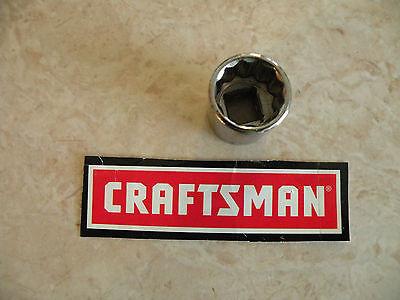 12 Point Sae Socket - CRAFTSMAN 3/8