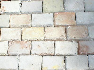 Cobblestone Concrete Mold - 24 CASTLE STONE MOLDS 4x6 MAKE 1000s DIY CONCRETE COBBLESTONE, WALL FLOOR STONES