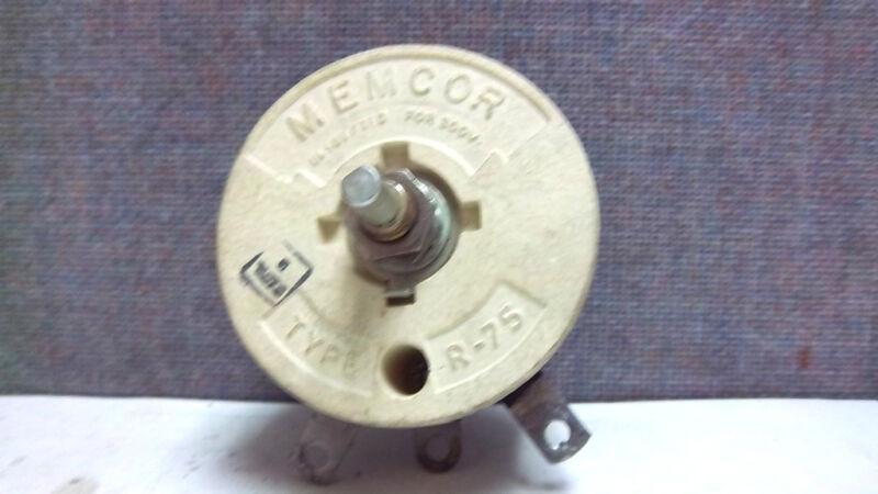MEMCOR RHEOSTAT TYPE R-75 NEW R75