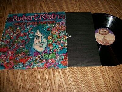 - ROBERT KLEIN - MIND OVER MATTER- W/ LYRIC SHEET