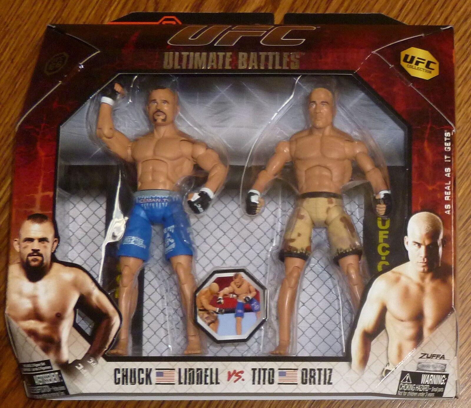 Tito Ortiz Chuck Liddell UFC Jakks Pacific Action Figures