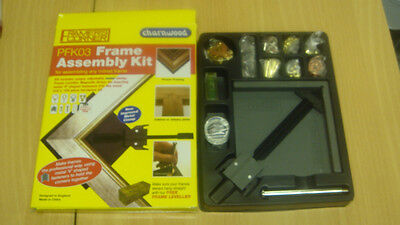 PFK03 Picture Frame assembly kit, v nailer clamp Great gift idea for sale  Swadlincote