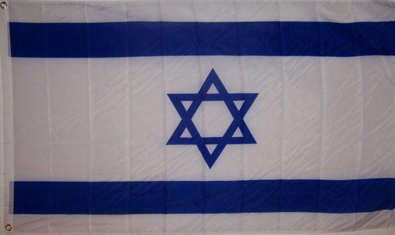 NEW BIG 2x3ft ISRAEL ISRAELI JEWISH FLAG better quality usa seller