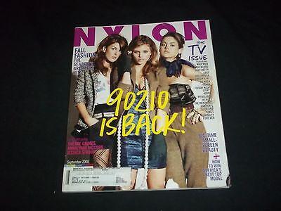 2008 SEPTEMBER NYLON MAGAZINE - 90210 IS BACK - FASHION & CULTURE - F 1193