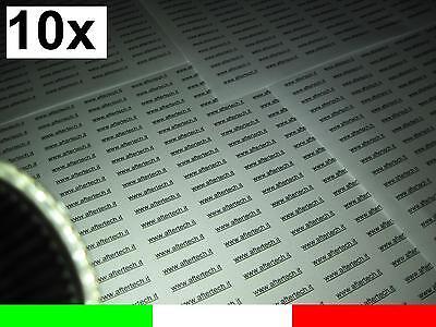 10x 180° LAMPADINA FARETTO LED BIANCO FREDDO 60LED STW MR16 12v AC/DC 2.5w gu5.3