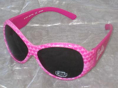 Barbie SONNENBRILLE Brille Sonnenschutz für Kinder pink mit Herzen