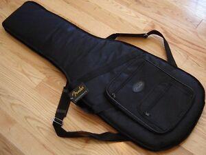 Usa Fender Strat Tele Deluxe Gig Bag Case Guitar Stratocaster Telecaster