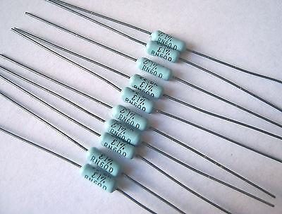 10-pack Mepco Electra Rn60d 243 Ohm 1 Precision Metal Film Resistor