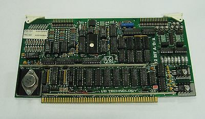 Modicon 12 Bit Ada Converter Board 100-221 Used Warranty
