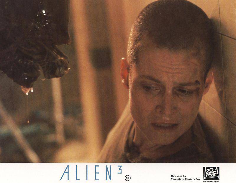 ALIEN 3  lobby card print - SIGOURNEY WEAVER