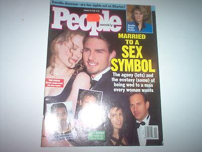 Barry White  Tyra Banks  Tom Cruise    People Magazine 1995