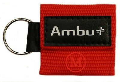 (Ambu Res-Cue Key MINI CPR Keychain Mask / Face Shield Barrier Kit)