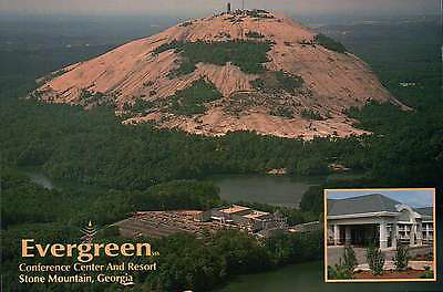 Evergreen Conference Center and Resort Stone Mountain, Georgia, Park -- Postcard