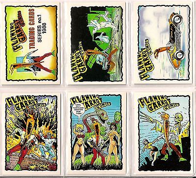 1988 FLAMING CARROT set (40) by Comic Images