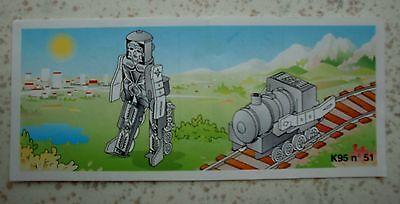 "Alter BPZ ""Transformer Lok-Roboter"" 1994 EU K95 n 51"