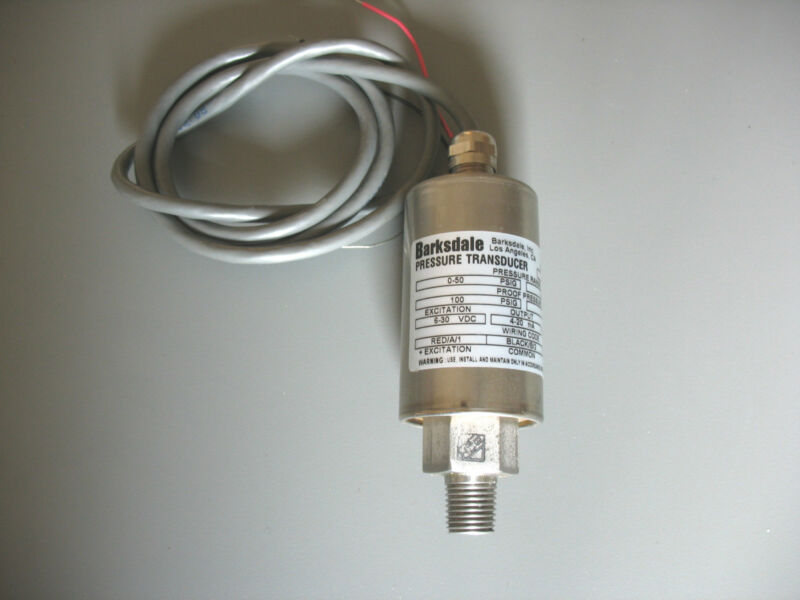 BARKSDALE PRESSURE TRANSDUCER 425H3-03 (0-50 Psig)
