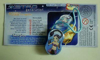 """""""Die Astro Generation"""" 2005 SKORPION, Scorpia mit BPZ Deutsch"""