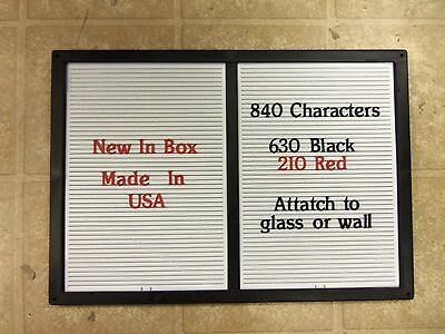 New Changeable Letter Message Menu Board Price Sign Hrz