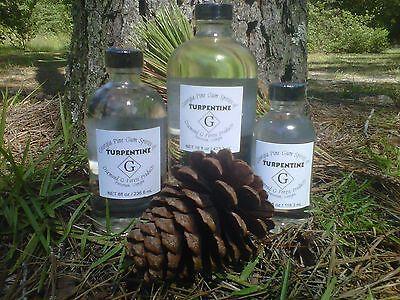 16 Oz. 100 Pure Gum Spirits Of Turpentine