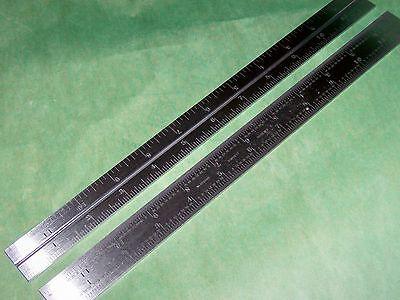 Starrett New B12-4r Combination Square Blade Scale Rule American Made