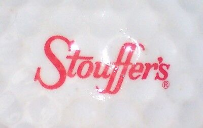 (1) STOUFFERS FROZEN ENTREES LOGO GOLF BALL