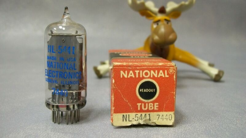 NL-5441 / 7440 National Vacuum Readout Tube Vintage