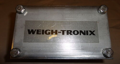 WEIGH-TRONIX 49550-0027 SCALE SUMMING BOX NEW