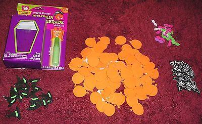 Halloween Pumpkins 3D Foam 130 pieces Project School Kids Adults 3 to 100  NIP (Halloween Pumpkin Projects)