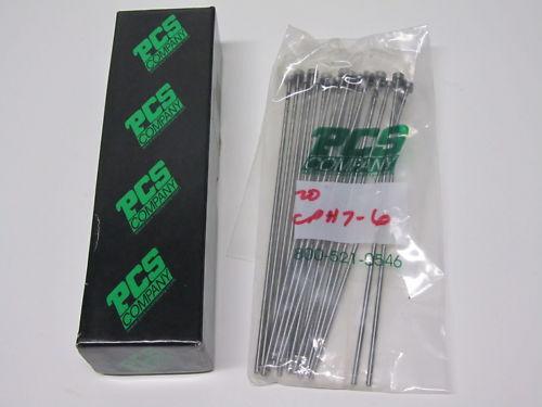 """20 pcs PCS COMPANY 6"""" long hardened core pins EDP CPH 7-6"""