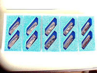 New 10 Pcs - Xhgr18t210er-mj Grade Ah730 Tungaloy Inserts