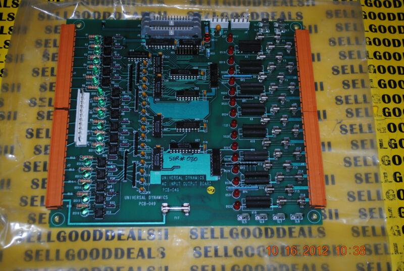UNA-DYN PCB-049 Control Board PCB049 Universal Dynamics New