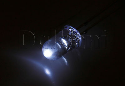 1000pcs 11-2115 High Brightness 5mm White 2 Pin Led Led Light