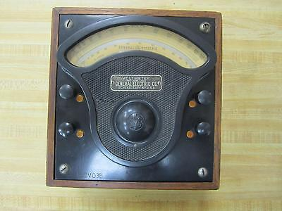 General Electric 551988 Volt Meter S-09916 Vintage Industrial Antique