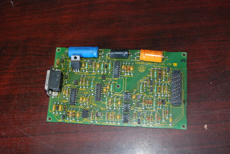 Allen-Bradley 40845-280-51,  CHG LTR: E, IO Card