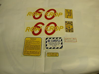 Oliver 60 Row Crop Tractor Decal Set New Free Shipping