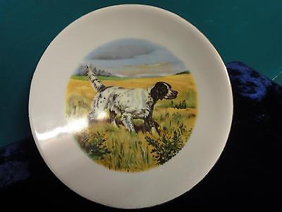 Vintage 60's Israel Naaman  Dog Bowl high dish on a stand  Porcelain