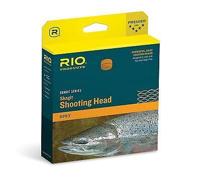 Rio Skagit Short Head - RIO NEW SKAGIT MAX SHORT 550-GR GRAIN SPEY 2HAND ROD SHOOTING FLY LINE HEAD