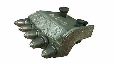 Pengo Style 24 Bullet Shank Plate With Bolts Nuts And 6 Carbide Rock Teeth