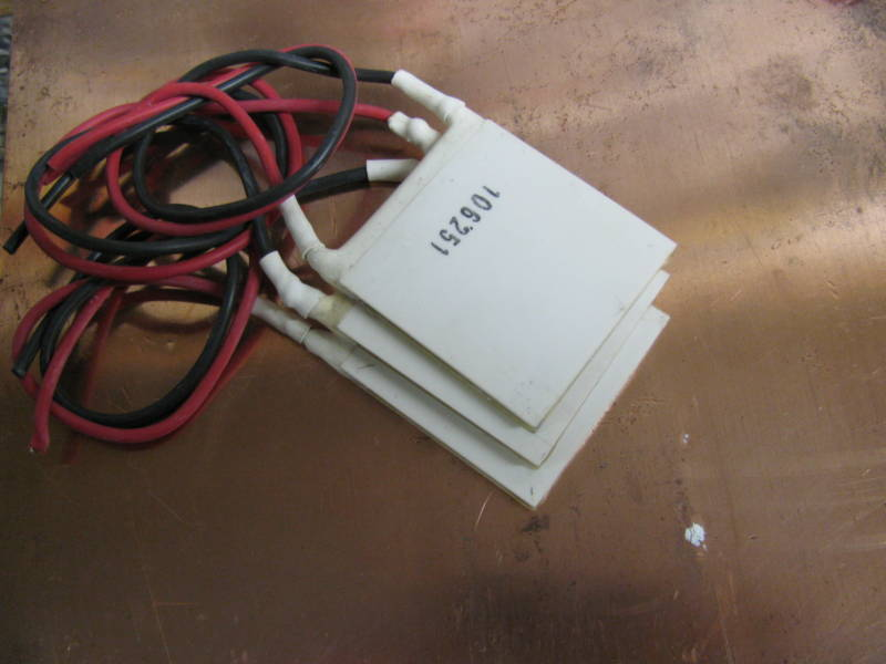 QTY 100 40mm Nord Refurb. Wired Peltier Thermoelectric